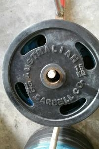 WEIGHT PLATES STANDARD & OLYMPIC