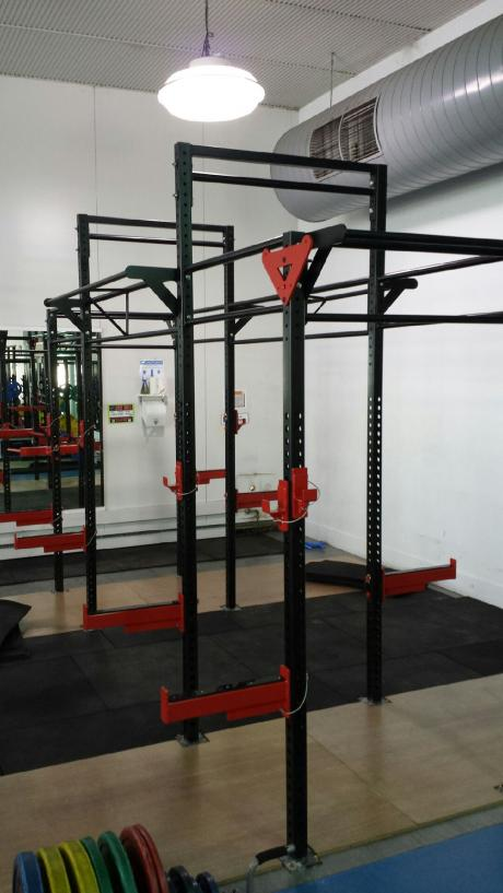 CROSS FIT STATIONS MANUFACTURED BY MIRAGE