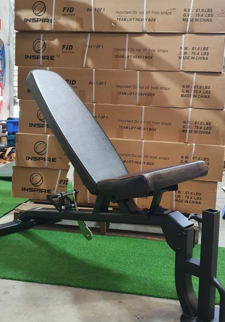 DOUBLE ADJUSTABLE BENCH NEW